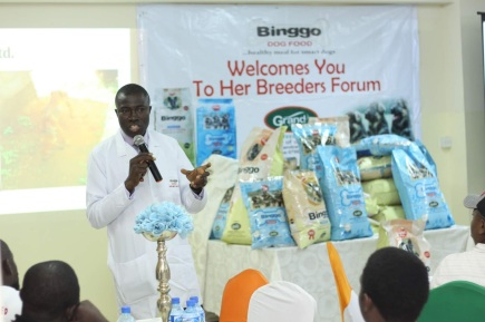 Binggo Dog Food launches in new attractive packaging  ?. Unveils new puppy formula